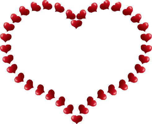 Heart Borders Clip Art. Clip Art Heart Border